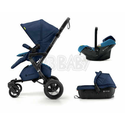 Travel Set Neo Air.Safe+Sleeper Snorkel Blue Concord 2018