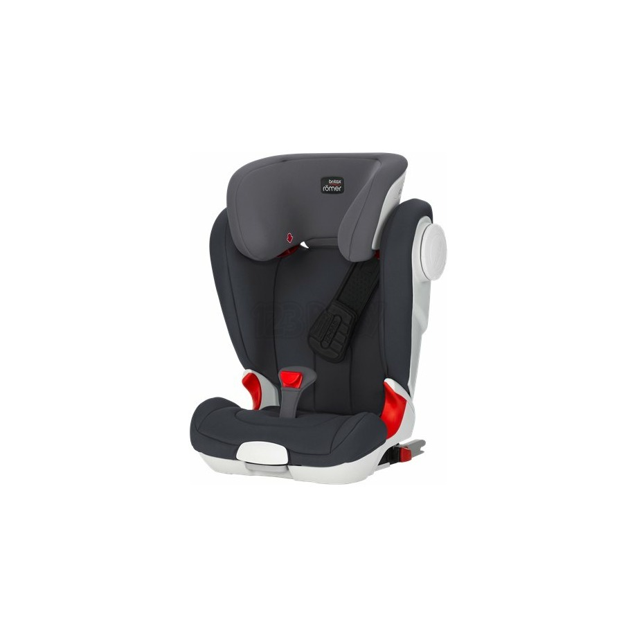 BRITAX - KIDFIX II XP SICT - BLACK SERIES - STORM GREY