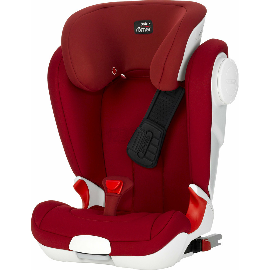 KIDFIX II XP SICT - BLACK SERIES - FLAME RED